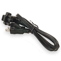3-Wire Flat Power Cord for Dell
